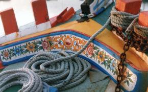 Barcos Tradicionais do Tejo e a sua Colorida Pintura Decorativa