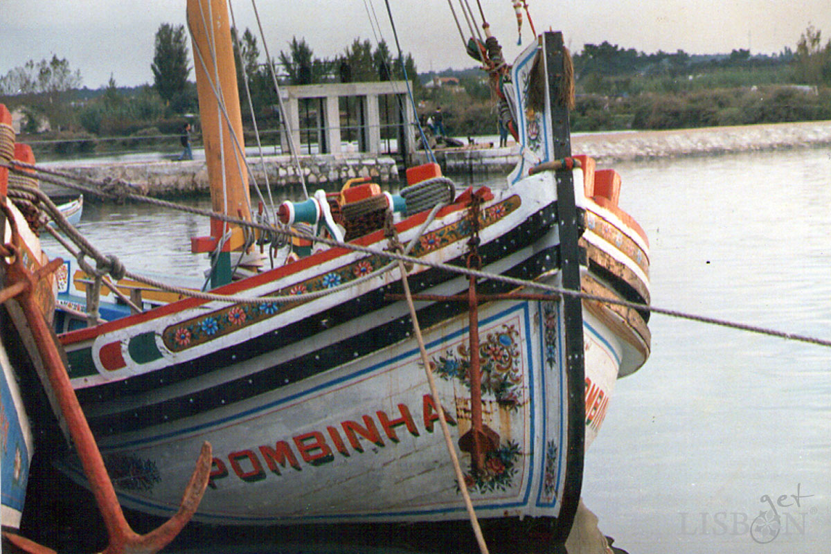 Traditional Boats of the Tagus River - Pombinha