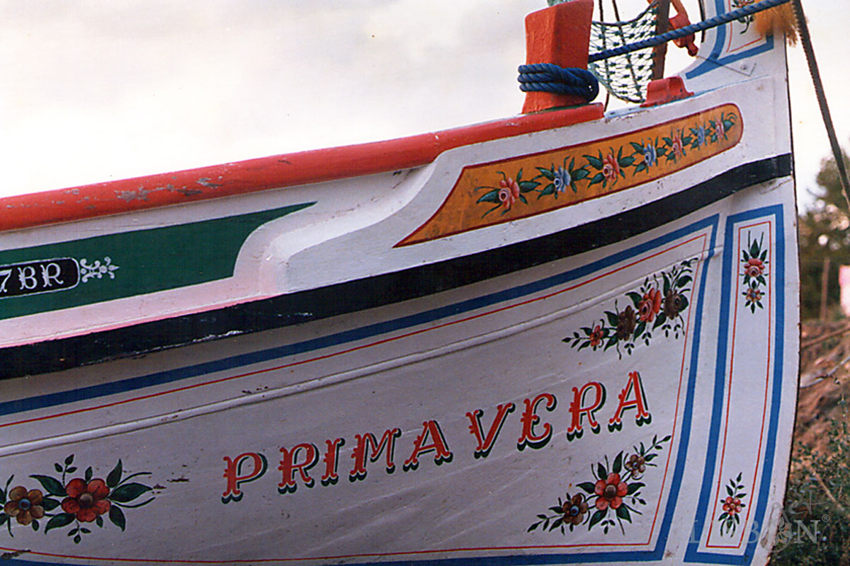 Traditional Boats of the Tagus River - Primavera