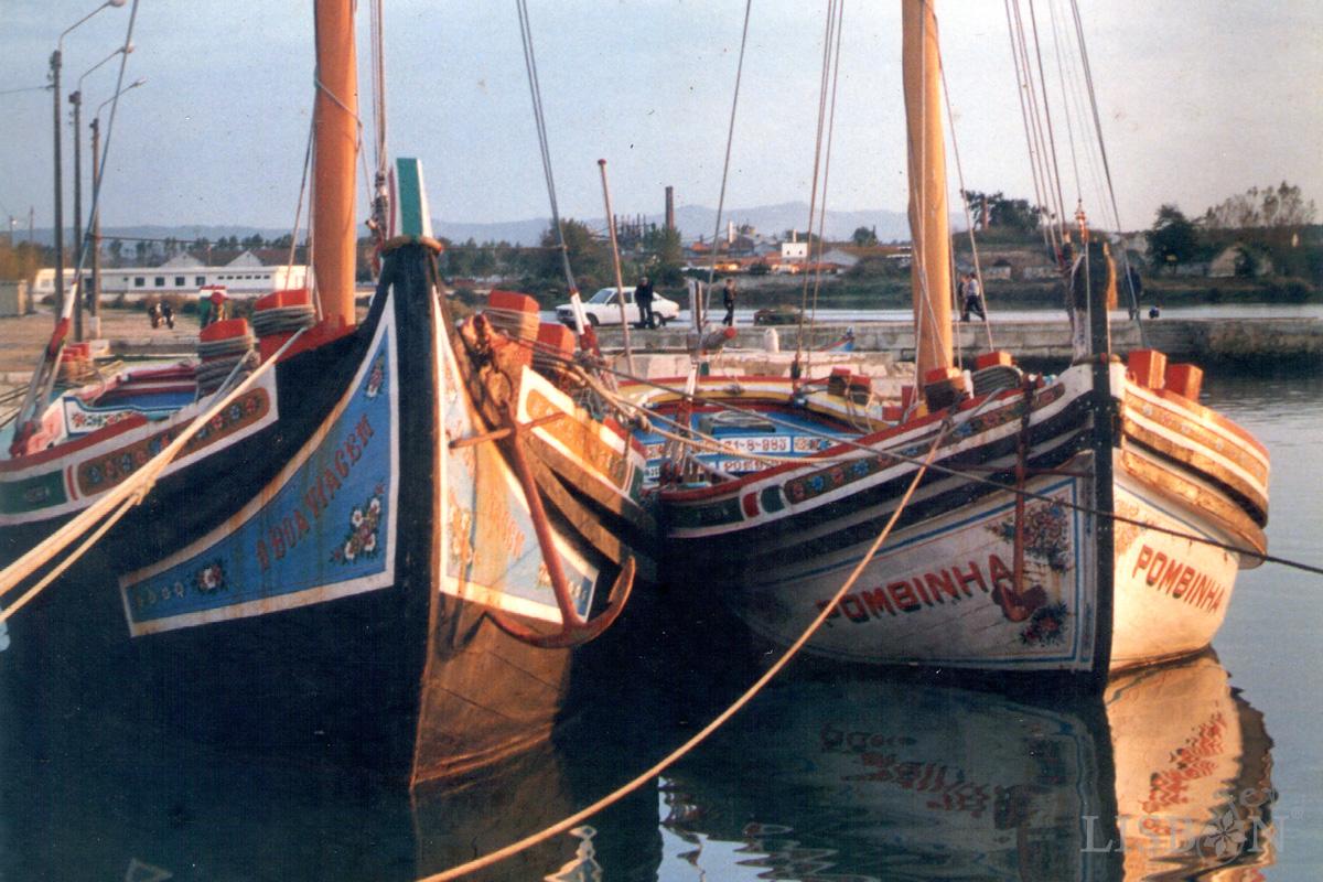 Barcos Tradicionais do Tejo, Moita 1985