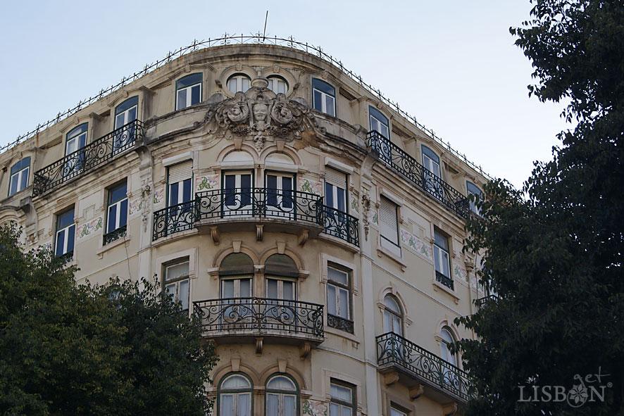 Edifício de gosto eclético, séc.XIX