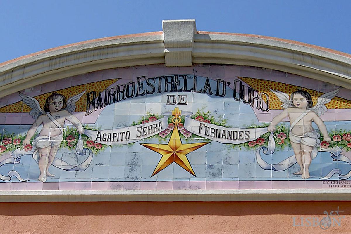 Tile Panel of Bairro Estrella D'Ouro