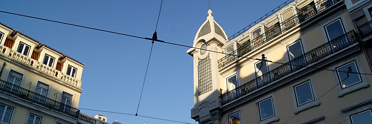 Buildings on Garrett Street, Chiado