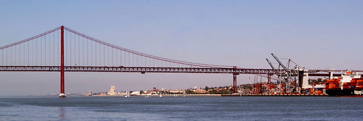West Lisbon area and Ponte 25 de Abril