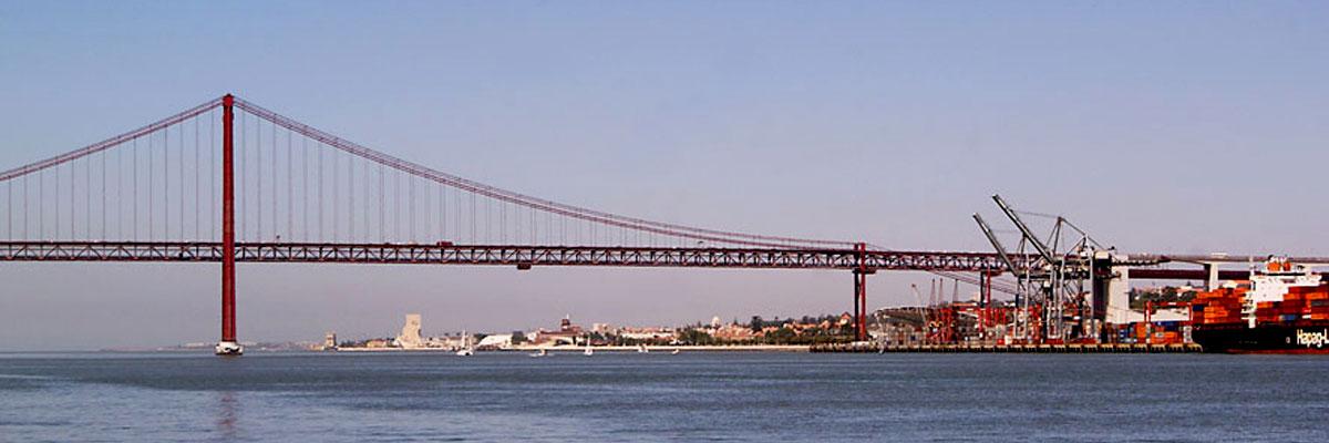 Zona Ocidental de Lisboa e Ponte 25 de Abril