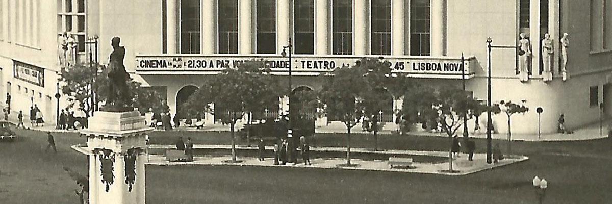 Frontaria do Cine-Teatro Monumental