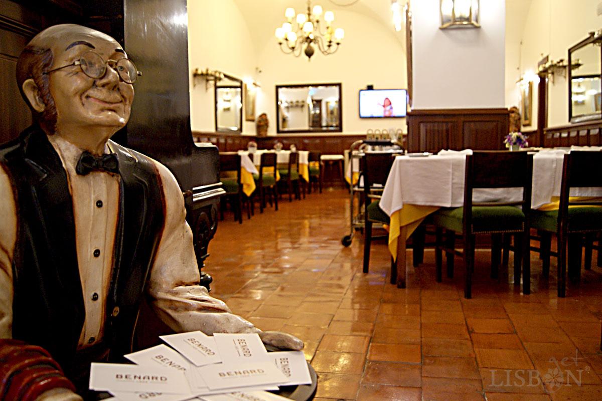 Sala do restaurante, Pastelaria Benard