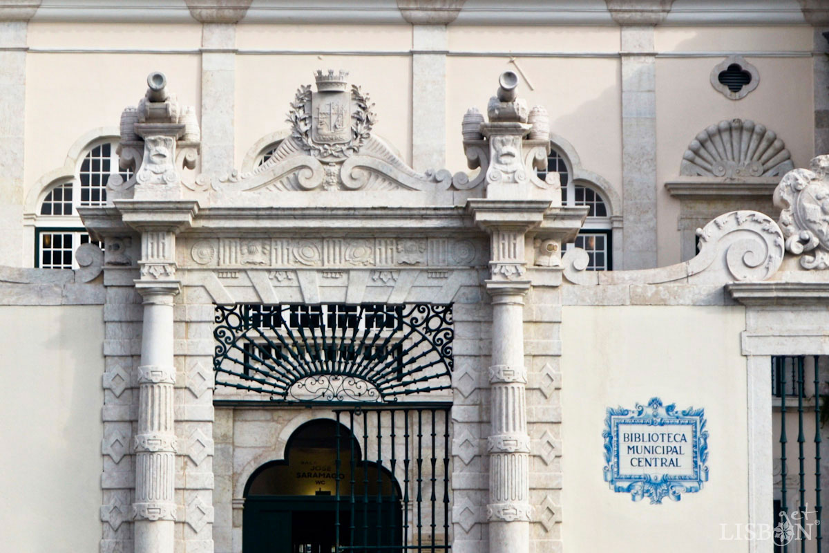 Library Palácio Galveias