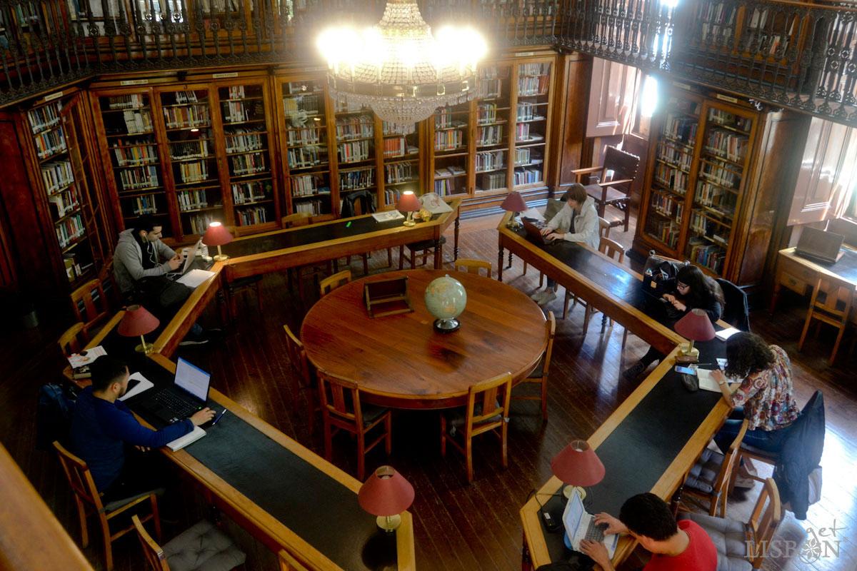 Biblioteca de São Lázaro, sala de leitura