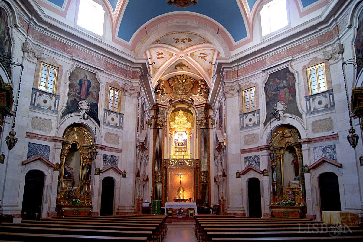 The Church of Nossa Senhora da Penha de França