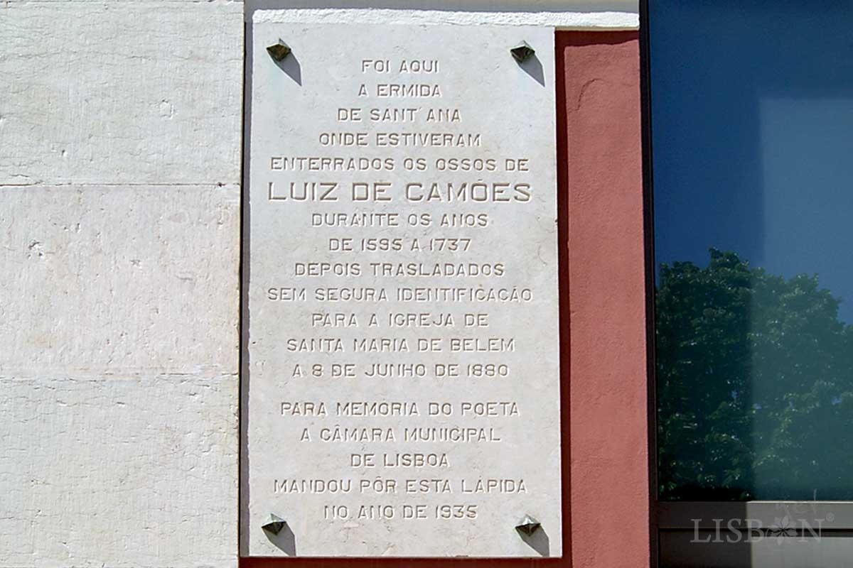 Plaque of the Rua do Instituto Bacteriológico