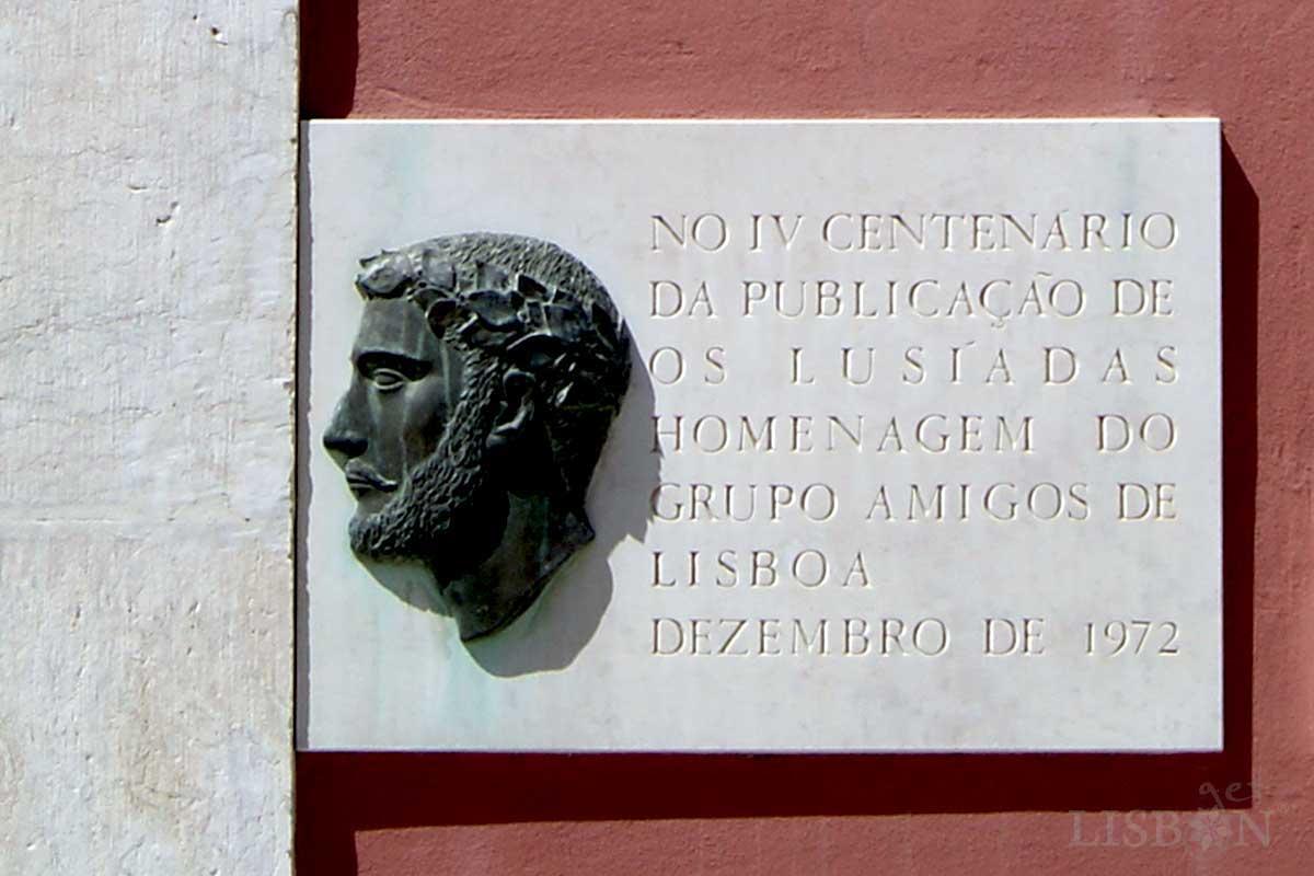 Plaque placed by the Grupo de Amigos de Lisboa