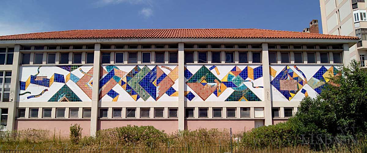 Tile Panel by Querubim Lapa