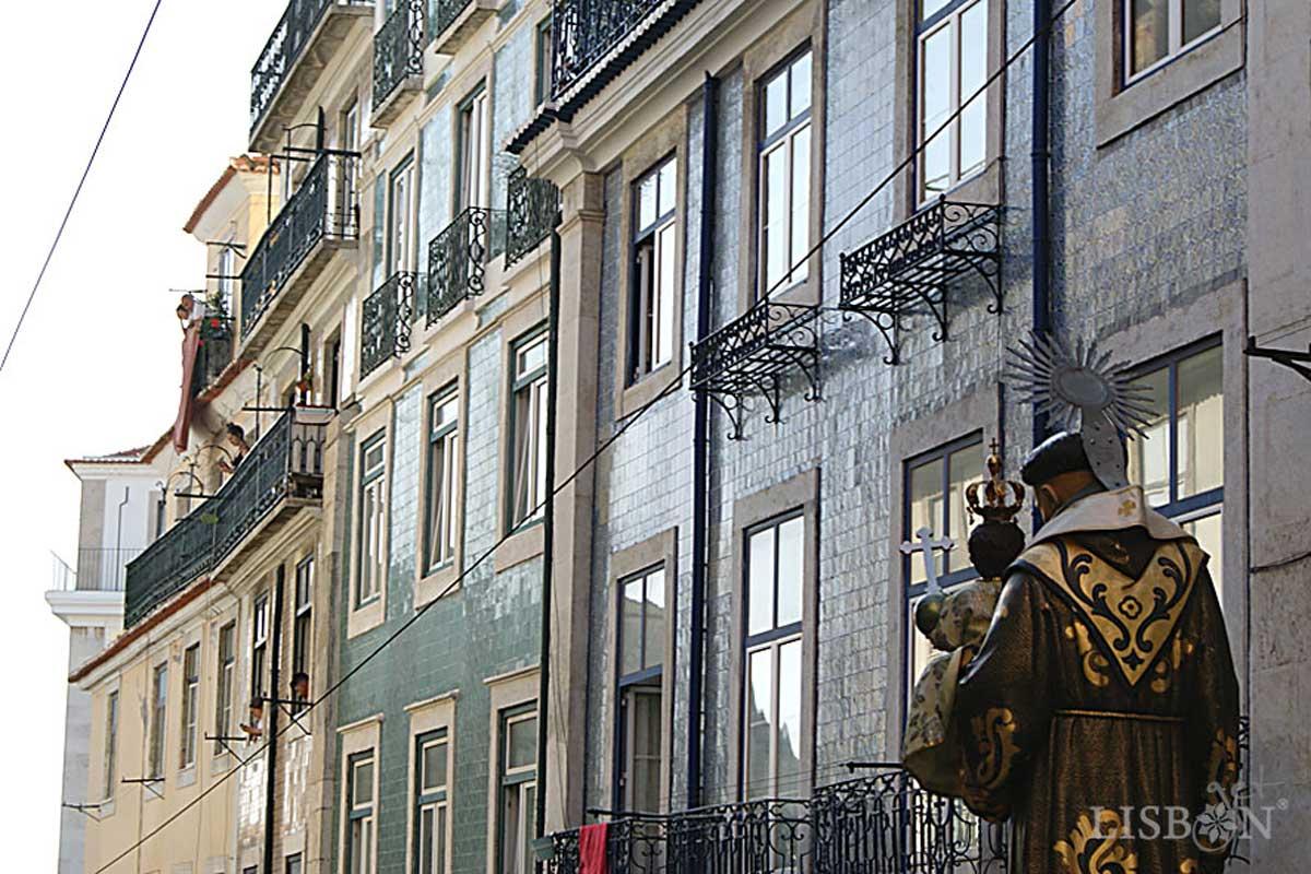 Santo António, Procissão em Lisboa