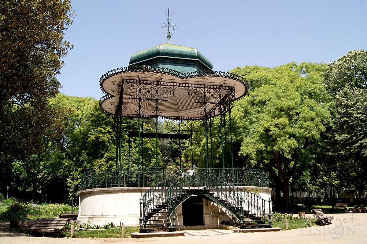 Bandstand of Estrela Garden