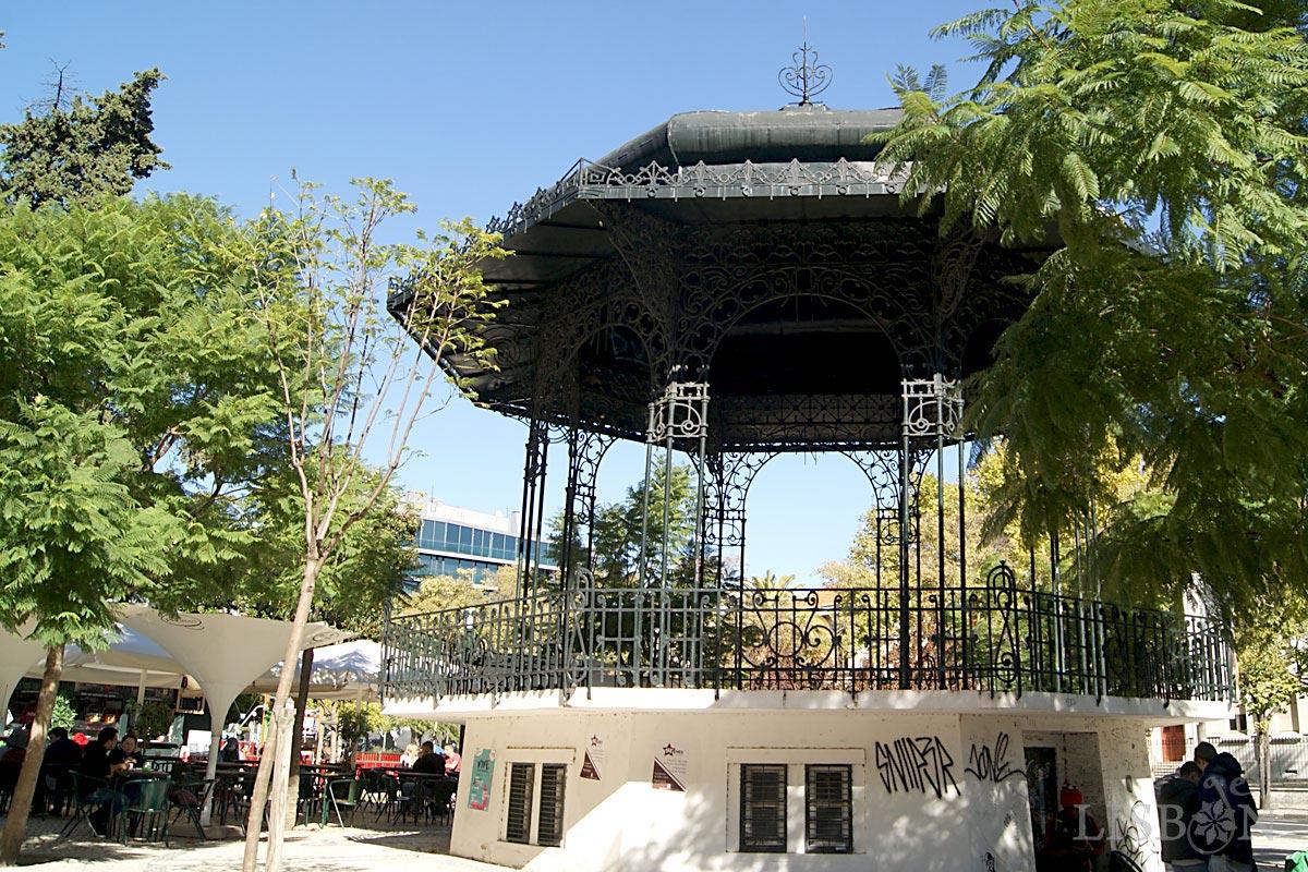 Bandstand of José Fontana Square