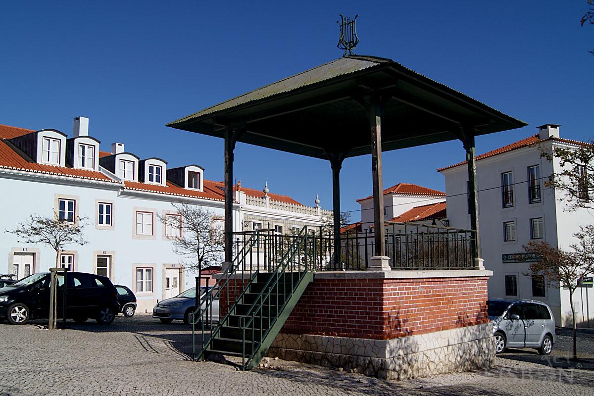 Bandstand of Viscondessa dos Olivais Square