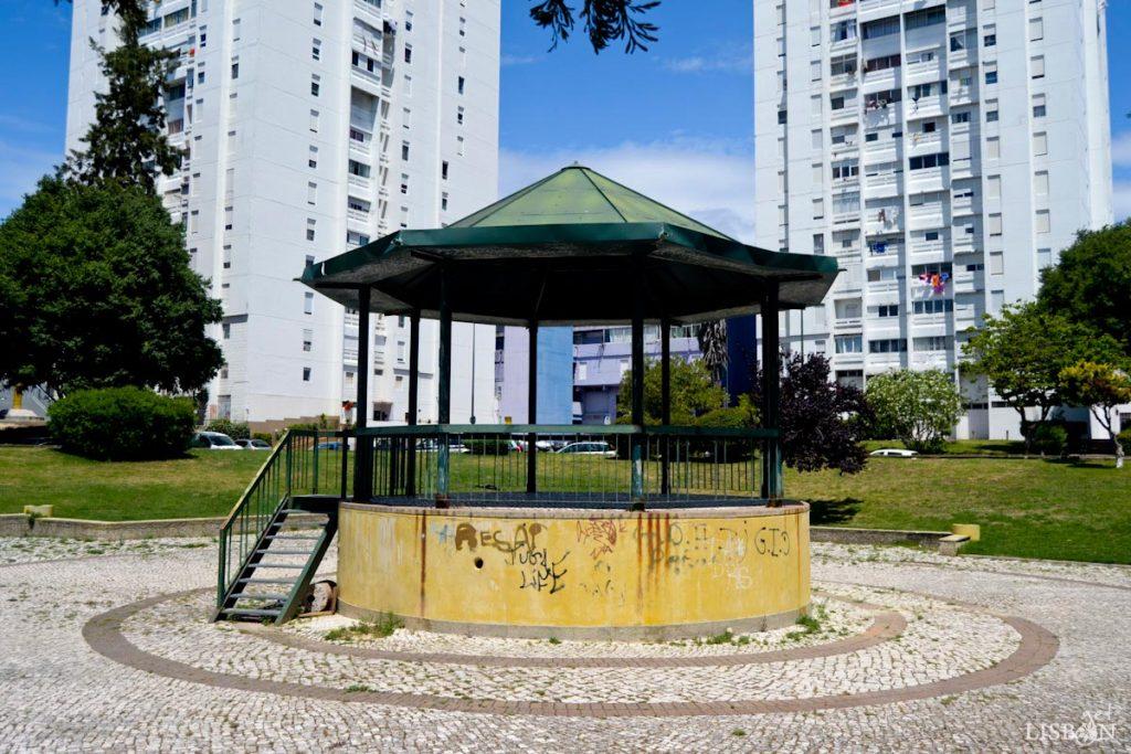 Bandstand of Condado Neighbourhood in Marvila