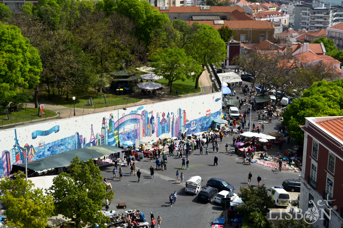 Jardim Botto Machado/Feira da Ladra