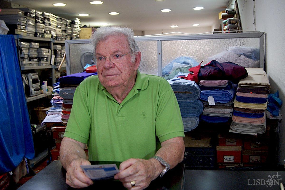 Sr. José Aguiar, proprietário do Hospital das Camisas