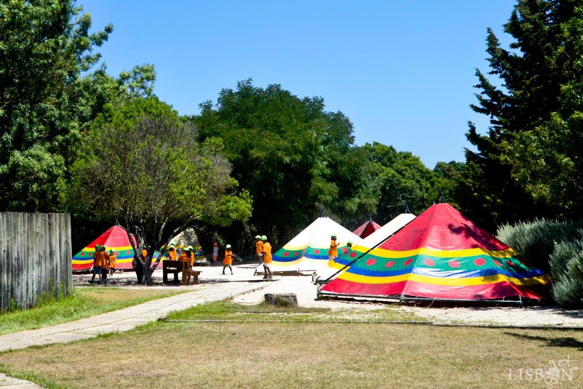 Parque dos Índios (Park of the American Indians)in the Recreational Park of Alto da Serafina