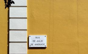 Uma das Mais Belas Ruas de Lisboa
