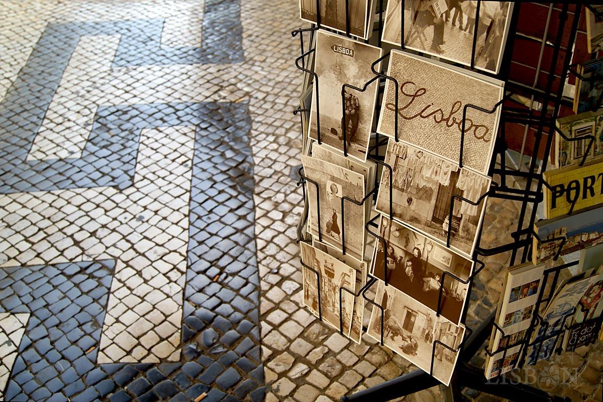 Portuguese Pavement - Rua da Prata - Lisbon