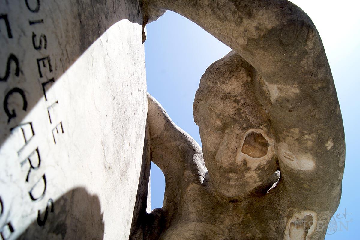 Cemitério Histórico: Nomes inscritos em pedra, Cemitério dos Prazeres