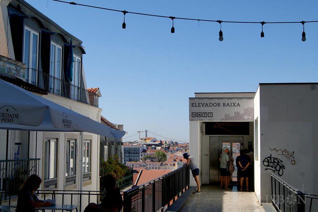Elevadores e Funiculares de Lisboa: Elevador Castelo de São Jorge-Baixa