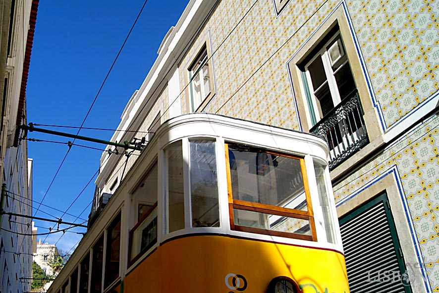 Lifts and Funiculars of Lisbon: Lavra Funicular, 2018