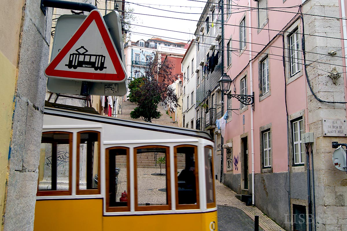 Lifts and Funiculars of Lisbon: Bica Funicular , 2018