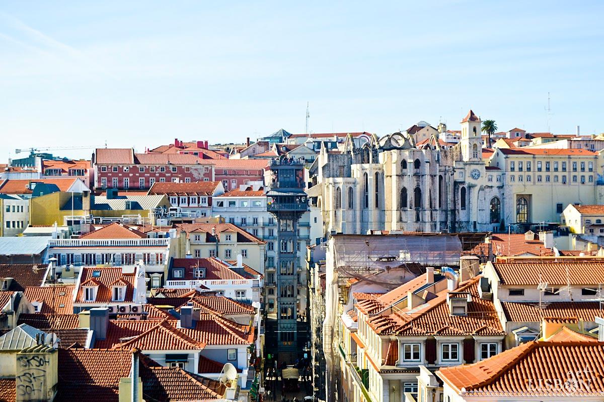 Lifts and Funiculars of Lisbon: Santa Justa Funicular, 2018