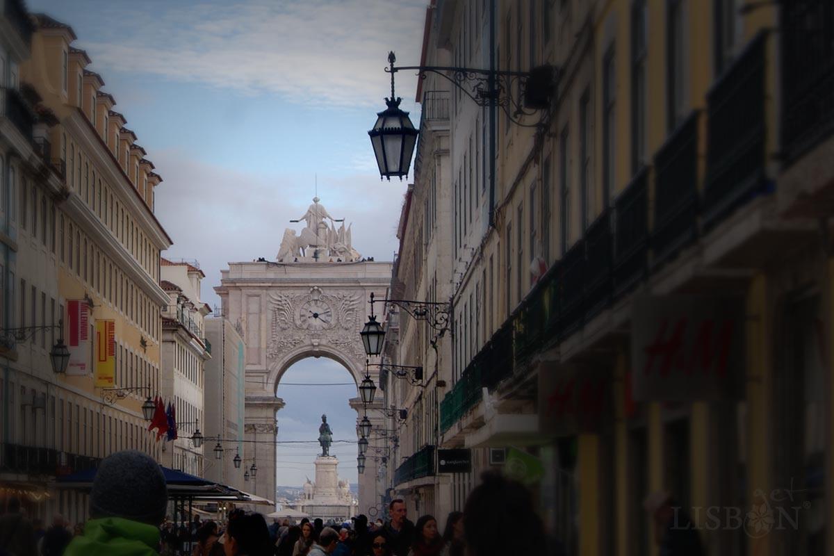 Baixa Pombalina, Rua Augusta, Lisboa