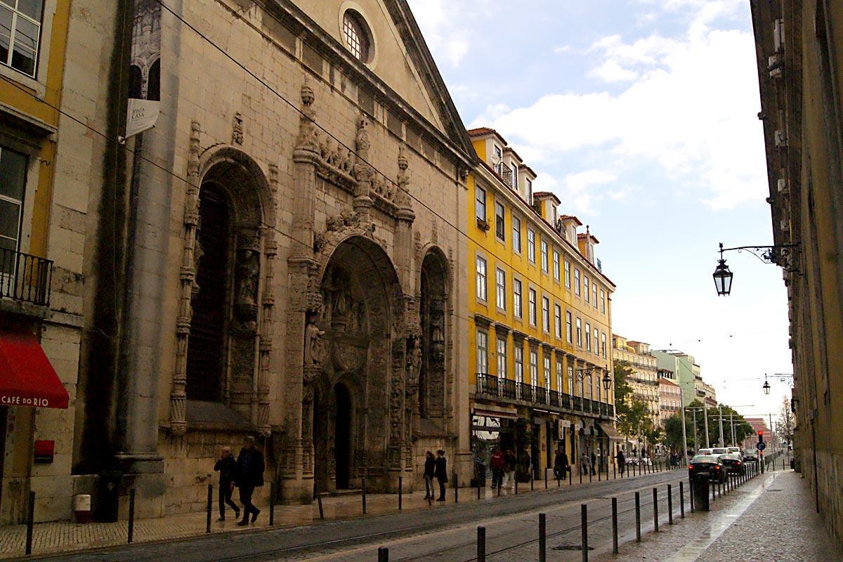 Church of Conceição Velha, Rua da Alfândega, Lisbon