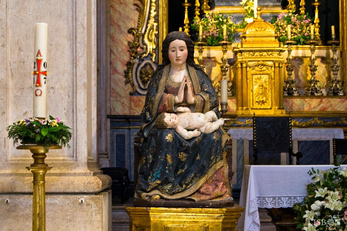 The Our Lady of Belém in the Church of Conceição Velha
