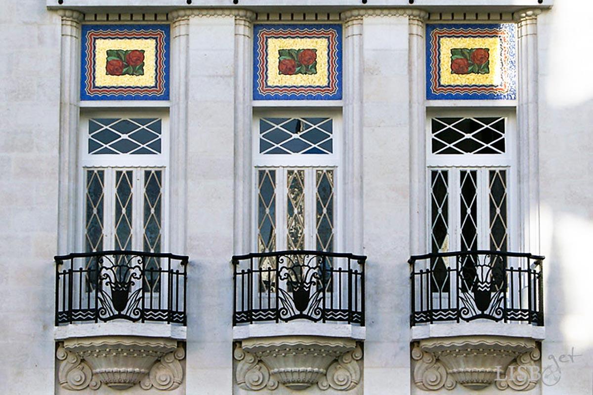 António Bravo House, Avenida 5 de Outubro, Lisbon