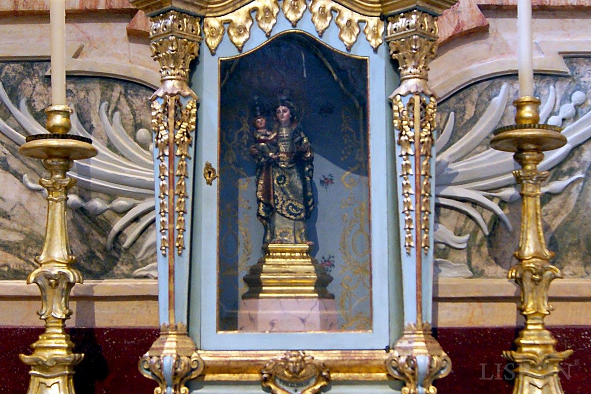 Nossa Senhora da Atalaia na Igreja da Conceição Velha