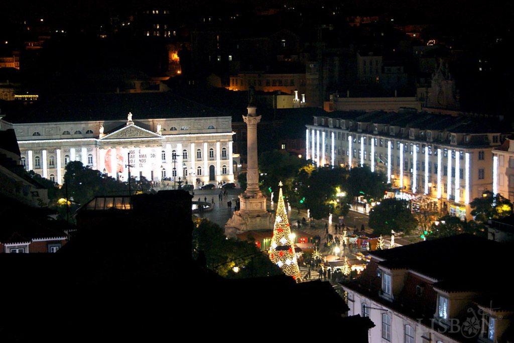 Iluminações de Natal, Rossio, 2018