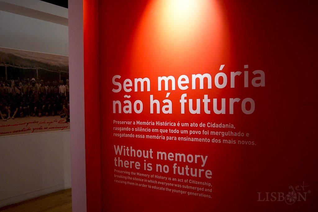 A necessidade de preservação da memória para a construção do futuro é uma missão do Museu do Aljube