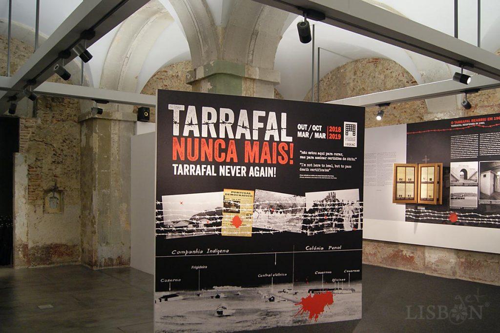 Exposição temporária Tarrafal Nunca Mais!