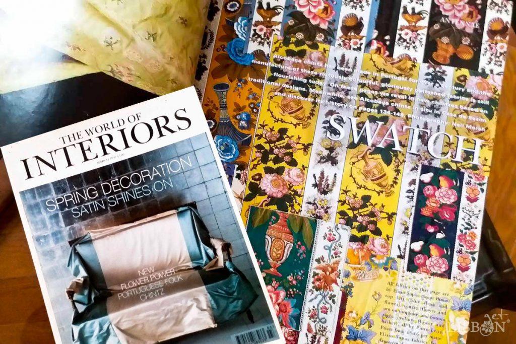 Revista The World of Interiors de Março de 1997