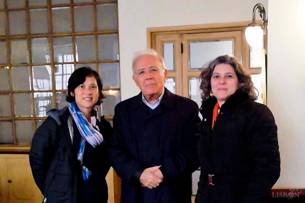 Encontro da getLISBON com o Engº Elísio Sopas, antigo proprietário dos Armazéns do Linho, na cidade do Porto