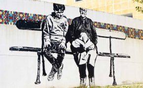 Arte Urbana do Bairro Padre Cruz em Lisboa
