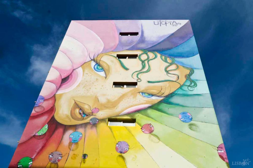 Pintura mural de Utopia
