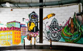 Arte Urbana do Estacionamento do Chão do Loureiro