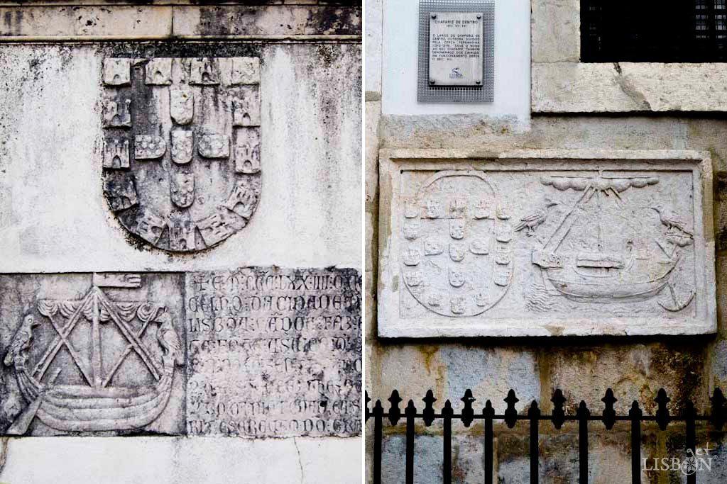 Surpreendentemente, a representação actual, mais familiar aos lisboetas, aproxima-se das mais antigas, Chafariz do Andaluz e Chafariz de Dentro.