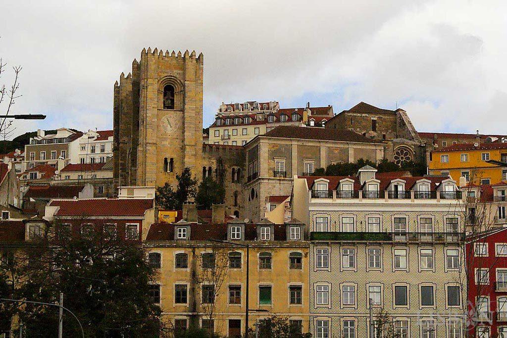 Lisbon Cathedral, where Saint Vincent's relics are.