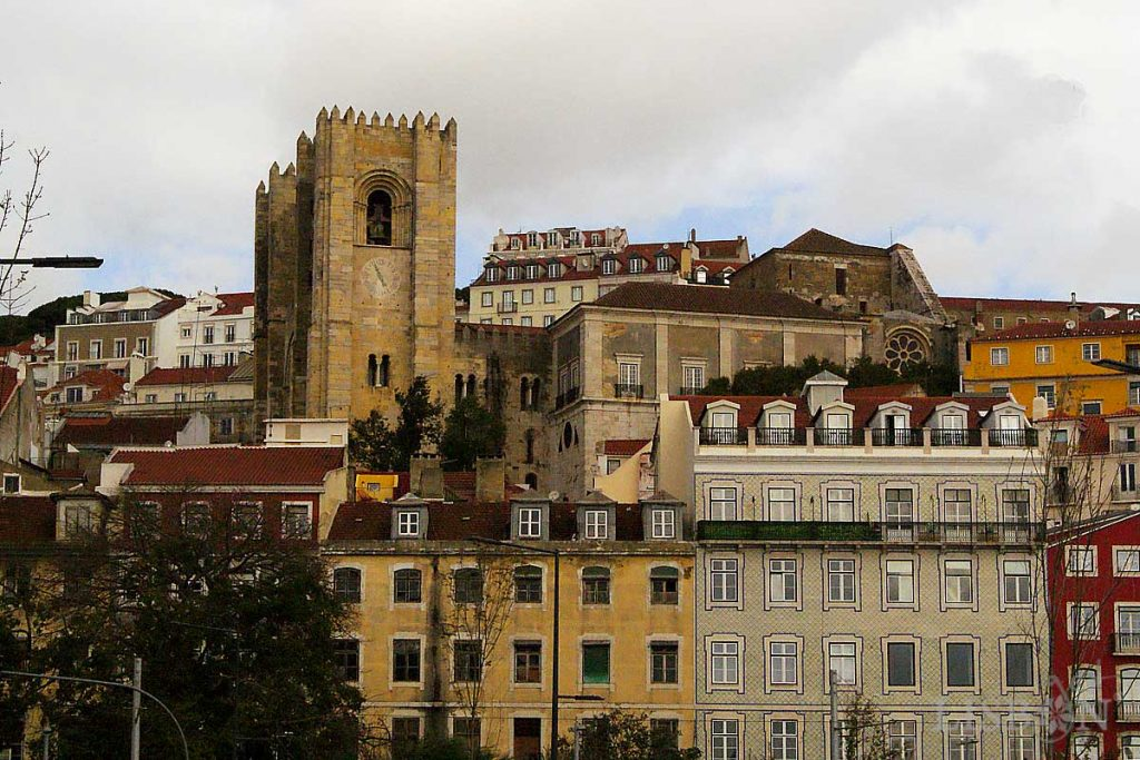 Sé Catedral de Lisboa, onde estão depositadas as relíquias de São Vicente