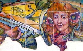 Os Azulejos Arte Nova de J. Pinto
