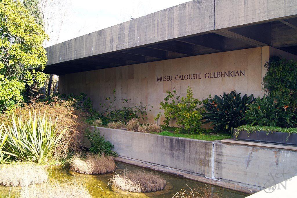 Fachada do Museu Calouste Gulbenkian- Colecção do Fundador